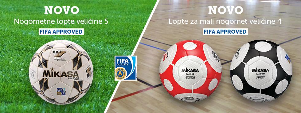 Nove nogometne i futsal lopte – FIFA approved