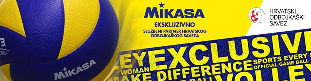 MIKASA – službeni partner Hrvatskog Odbojkaškog saveza