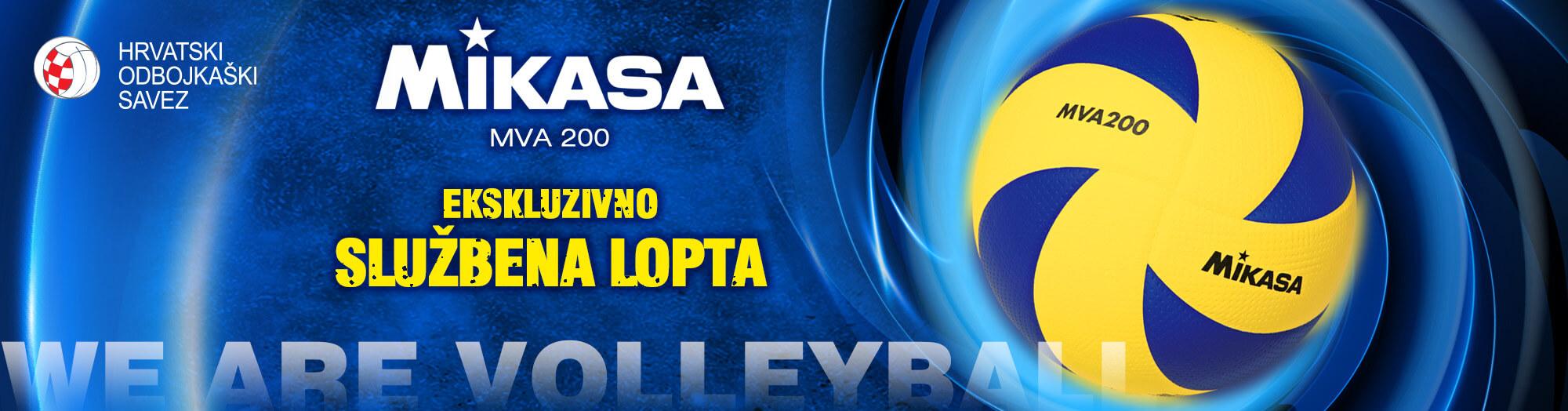 MIKASA MVA200 – službena lopta Hrvatskog Odbojkaškog saveza