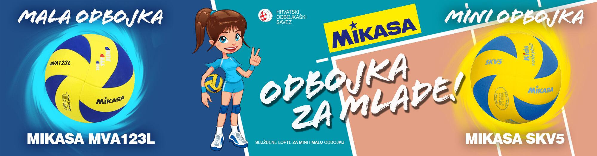 MIKASA – odbojka za najmlađe